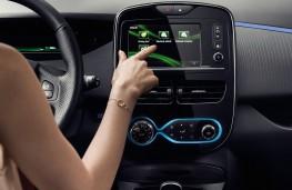 Renault ZOE controls
