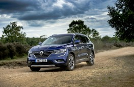 Renault Koleos, dynamic off road
