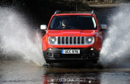 Jeep Renegade, front, off road