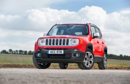 Jeep Renegade, front, static