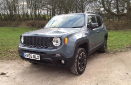 Jeep Renegade, front