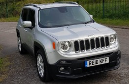 Jeep Renegade 1.6 MultiJet II Limited, front