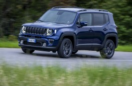 Jeep Renegade S, 2019, front, action