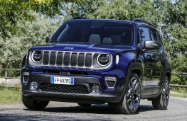 Jeep Renegade, 2018, front, action