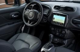 Jeep Renegade Dawn of Justice edition, interior