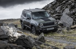 Jeep Renegade Trailhawk, 2019, front, off road