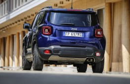 Jeep Renegade, 2018, rear