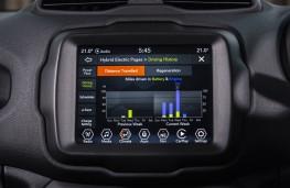 Jeep Renegade 4xe, 2020, display screen