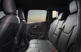 Jeep Renegade 4xe, 2020, rear seats