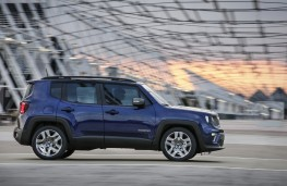 Jeep Renegade, 2018, side