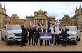 SsangYong Rexton, 2017, arrives in Britain, Blenheim Palace