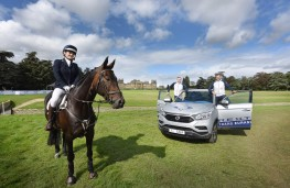 SsangYong Rexton, 2017, Blenheim international horse trials