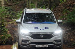 SsangYong Rexton, 2017, off road, nose