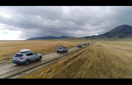 SsangYong Rexton, 2017, Trans Eurasia trek, road