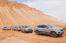 SsangYong Rexton, 2017, Trans Eurasia trek, desert