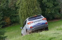 SsangYong Rexton, 2017, off road, slope, rear