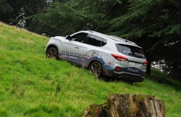 SsangYong Rexton, 2017, off road, slope