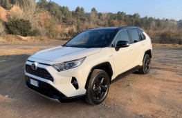 Toyota RAV4, 2019, front, static