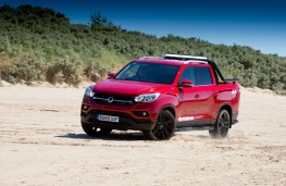 SsangYong Musso Rhino, 2018, front, action