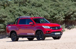 SsangYong Musso Rhino, 2018, front