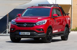 SsangYong Musso Rhino, 2018, front, static