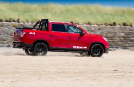 SsangYong Musso Rhino, 2018, side, action