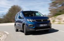 Peugeot Rifter, 2018, front