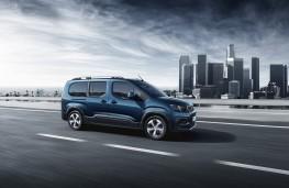 Peugeot Rifter, 2018, side