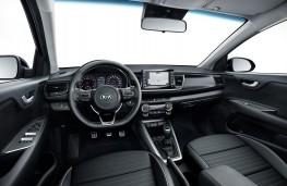 Kia Rio GT-Line, 2018, interior