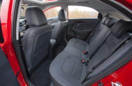 Kia Rio, rear seats