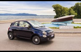 Fiat 500 Riva, front