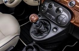 Fiat 500 Riva, gear lever