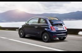 Fiat 500 Riva, rear