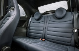 Abarth 695 Rivale, rear seats