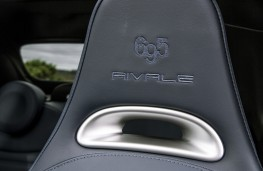 Abarth 695 Rivale, seat detail
