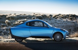 London Motor Show, 2016, Riversimple RASA hydrogen fuel cell car