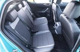 Volkswagen T-Cross R-Line, 2019, rear seats