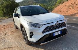 Toyota RAV4, 2019, nose