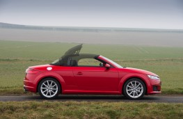 Audi TT Roadster, roof retraction