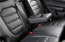 MGGS, interior rear