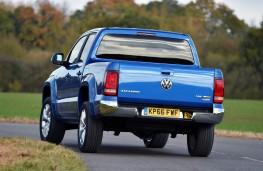 Volkswagen Amarok, 2016, rear