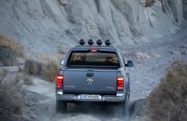Volkswagen Amarok 3.0 V6 TDI, 2017, rear, action