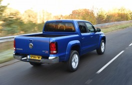 Volkswagen Amarok, 2016, rear, action