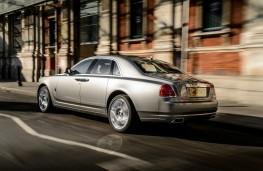 Rolls-Royce Ghost Series II, rear