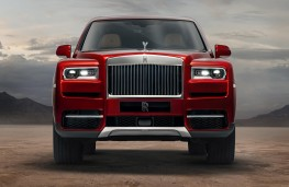 Rolls-Royce Cullinan head on