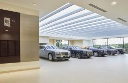 Rybrook Rolls-Royce showroom, Bristol, side view