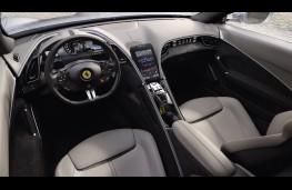 Ferrari Roma, 2019, interior