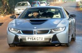 Wayne Rooney's BMW i8