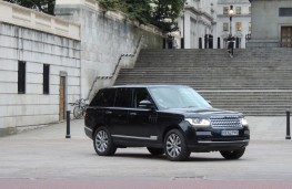 Range Rover once owned by Prince William and Kate