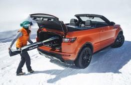 Range Rover Evoque Convertible, ski hatch